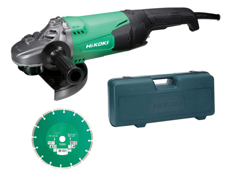 G23STCD/J2 Angle Grinder 230mm Diamond Blade & Case 2000W 11