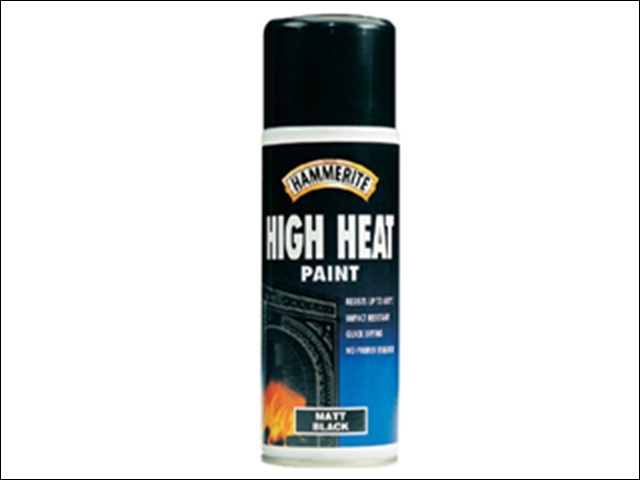 High Heat Paint Aerosol Black 400ml