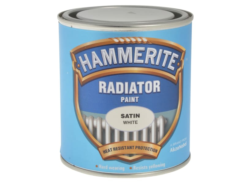 Radiator Paint Satin White 500ml