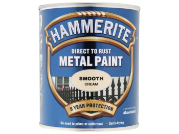 Direct to Rust Smooth Finish Metal Paint Cream 750ml