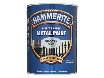 Direct to Rust Smooth Finish Metal Paint Silver 5 Litre