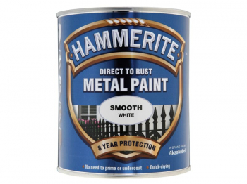 Direct to Rust Smooth Finish Metal Paint White 250ml