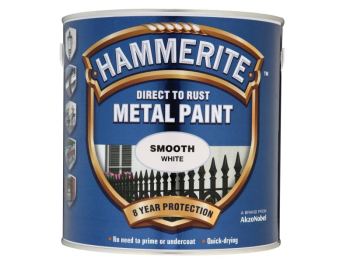 Direct to Rust Smooth Finish Metal Paint White 2.5 Litre