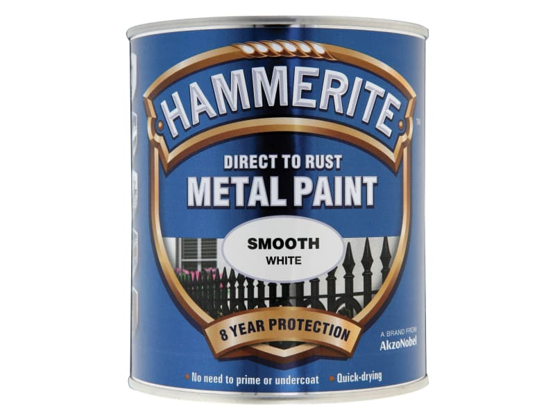 Direct to Rust Smooth Finish Metal Paint White 750ml