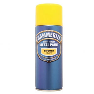 Direct to Rust Smooth Finish Aerosol Yellow 400ml