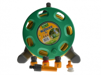 2412 30m Freestanding Compact Hose Reel + 25m of 12.5mm Hose