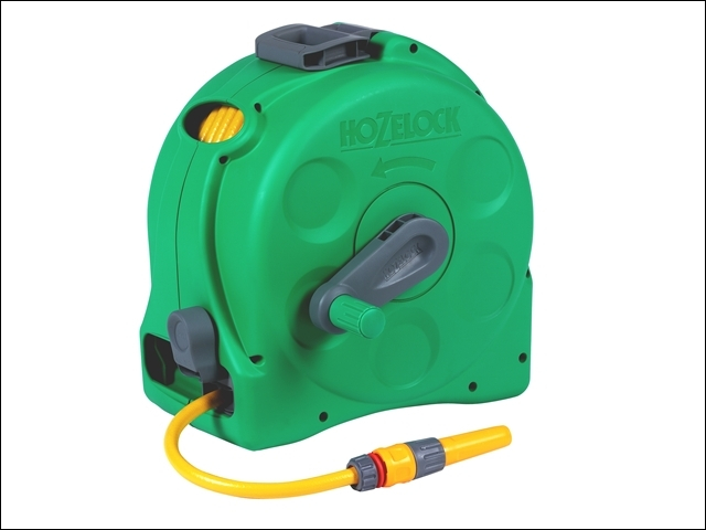 2415 25m 2-in-1 Compact Hose Reel + 25m of Starter Hose