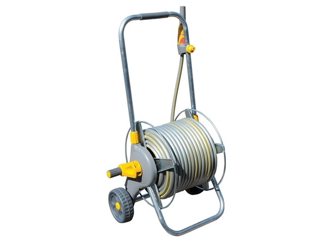 2436 60m Metal Pro Hose Cart & 30m of 12.5mm Hose