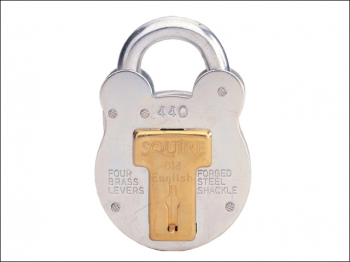 440 Old English Padlock with Steel Case 51mm