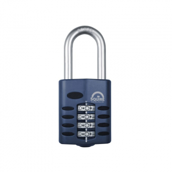 CP50/1.5 Combination Padlock 4-Wheel 50mm Long Shackle 38mm