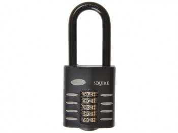 CP60/2.5 Combination Padlock 5 -Wheel 60mm Extra Long Shackle