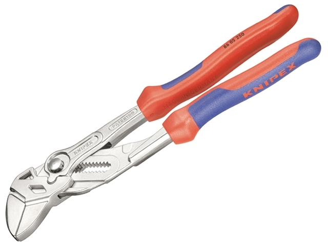 Plier Wrench Multi-Component Grip 180mm - 35mm Capacity