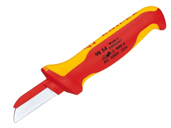 98 54 VDE Cable Knife (Back of Blade Insulated)