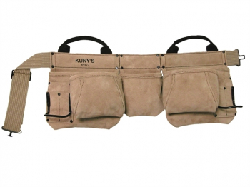 AP-622A Carpenter's Apron Split Grain Leather