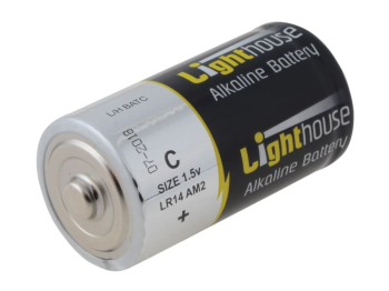 C LR14 Alkaline Batteries 6200 mAh (Pack 2)