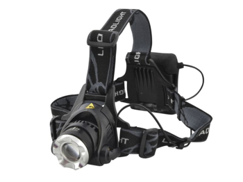 LED Zoom Headlight 3W Cree 120 Lumens