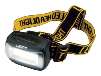 LED Wide Beam Headlight 120 lumens