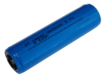 Rechargeable 18650 Li-ion Battery 3.7V 2600mAh