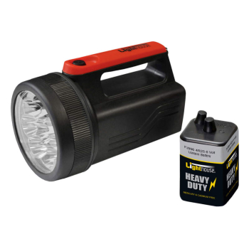 8 LED Spotlight with 6V Battery 996