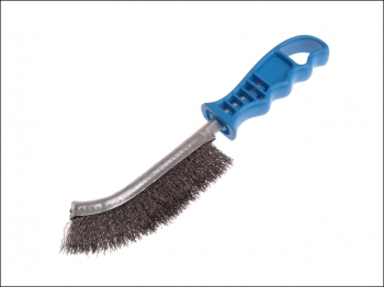 Universal Hand Brush 260mm x 28mm 0.3 Crimped Steel Wire