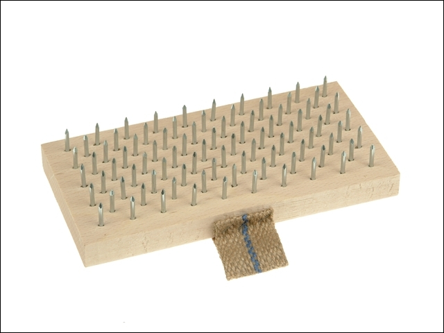 Plasterers Brush 190 x 95mm (Steel Pins)