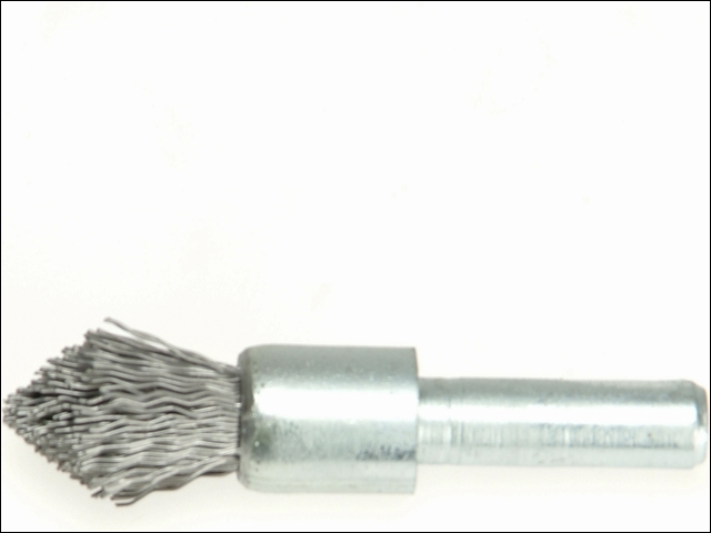 End Brush with Shank 23/22 x 25mm 0.30 Steel Wire