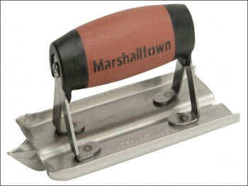 M180D Stainless Steel Groover Trowel DuraSoft Handle 6 x 3i