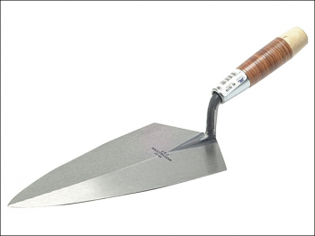 19L Philadelphia Pattern Brick Trowel Leather Handle 10in