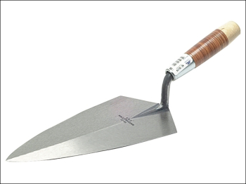 19L Philadelphia Pattern Brick Trowel Leather Handle 12in