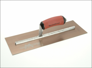 MPB145GSD Pre-Worn PermaShape Finishing Gold S/S Trowel Dur