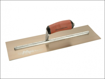 MPB165GSD Pre-Worn PermaShape Finishing Gold S/S Trowel Dur