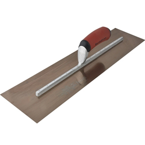 MXS205GD Golden Stainless Stee l Finishing Trowel DuraSoft 2