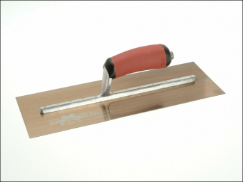 MXS73GSD Gold Finishing Trowel DuraSoft Handle 14 x 4.3/4in