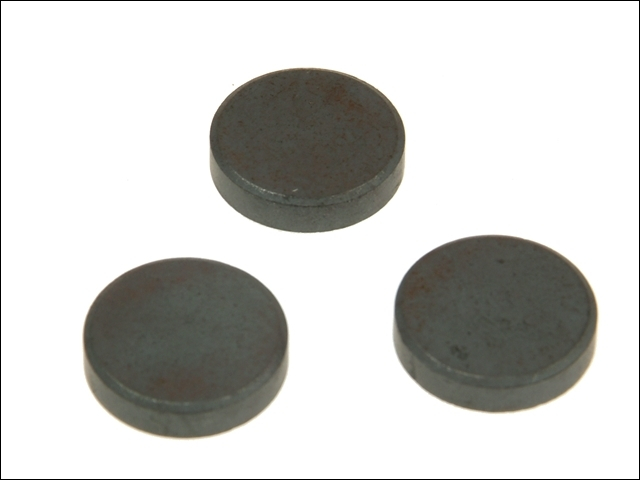 601 Ferrite Disc Magnet 20mm (Card of 10)