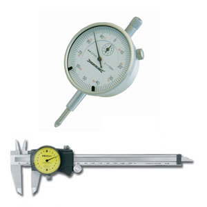 Dial Caliper White Face 0-150mm