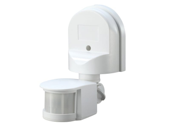 Wall Mounted PIR Motion Detector White