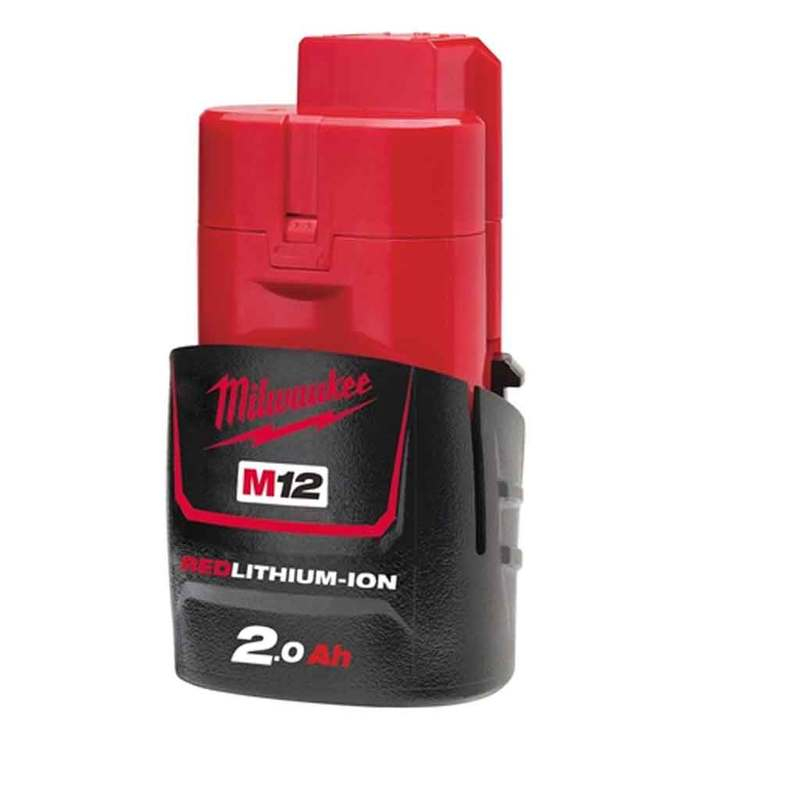 M12 B2 REDLITHIUM-ION Battery 12V 2.0Ah Li-Ion