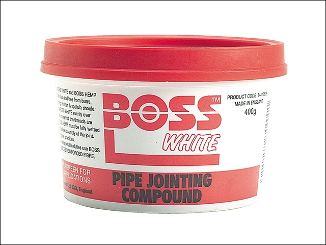 Boss White Tub 400g