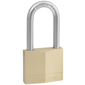Solid Brass 40mm Padlock 4-Pin - 38mm Shackle