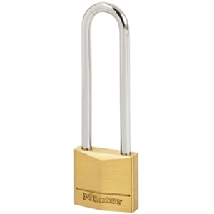 Solid Brass 50mm Padlock 5-Pin - 64mm Shackle