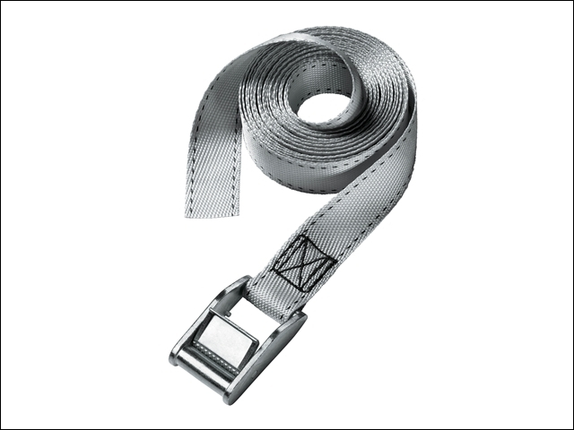 Lashing Strap with Metal Buckle Coloured 2.5m 150kg