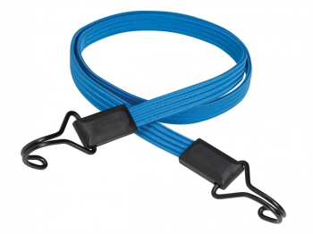 Flat Bungee 120cm Dark Blue Double Hook