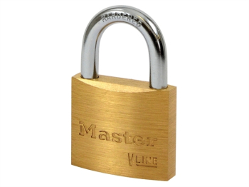 V Line Brass 40mm Padlock - Keyed Alike 2341
