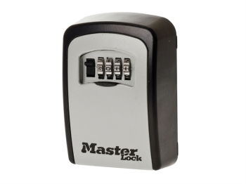 5401 Standard Wall Mounted Key Lock Box (Up To 3 Keys) - Bla