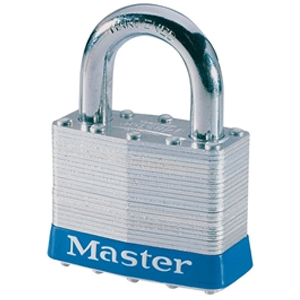 Laminated Steel 51mm Padlock 4-Pin - Keyed Alike