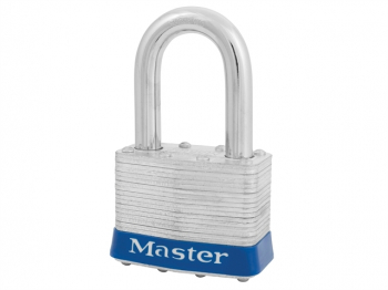 Laminated Steel 51mm Padlock 4 -Pin - 38mm Shackle - Keyed Al