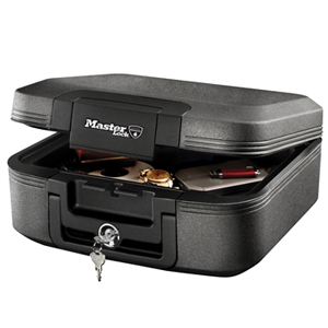 Medium Key Locking Fire & Water Chest
