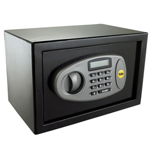 Compact Keyed Lock Safe with Cable