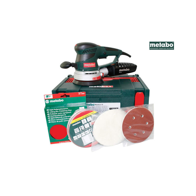 SXE-450 Variable Speed Dual Or bit Sander Pro Pack 150mm 350W