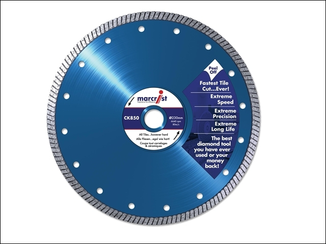 CK850 Extreme Speed Diamond Blade Fast Tile 125 x 22.2mm